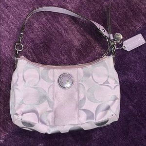 Light Purple Coach Bag